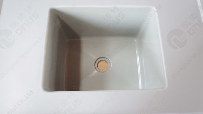 Epoxy Resin Basin Station Counter Top Sinks For Laboratory Worktops With Heat Resistance